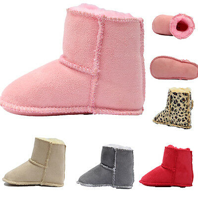 Warm Winter Boot Baby Girl Soft Soled Baby Shoes Newborn Baby Kids Boys Booties