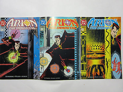 Arion the Immortal 1992 1-6 DC Comics Kupperberg - Wilson - Acerno