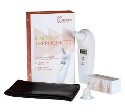 NEW Kinetik Inner Ear Thermometer Body Temperature To Help You Identify Illness
