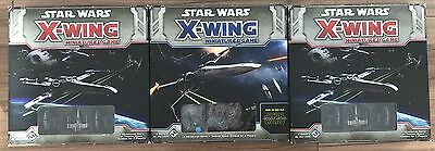 Star Wars X-Wing Miniatures Game Core Sets With Heaps Of Extras