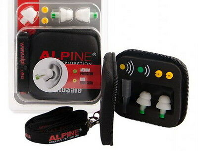 Alpine MotoSafe v1.0 Earplugs - Hearing protection for motorbikes/motorcycles