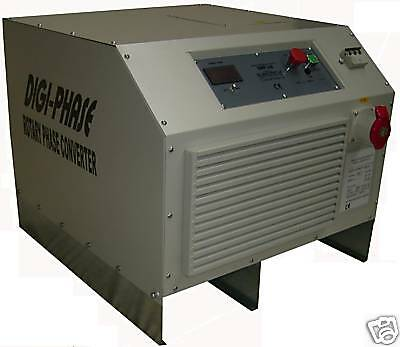 5.5 Hp/4Kw Digital Rotary Three Phase Converter 1 to 3   £902.00 Plus VAT