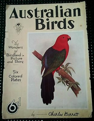 "VINTAGE ""AUSTRALIAN BIRDS"" A SUN-NEWS PICTORIAL by CHARLES BARRETT SUN NATURE 10"