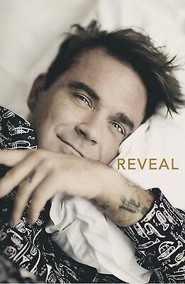 Robbie Williams Reveal Book NEXT DAY DELIVERY