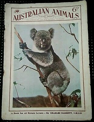 VINTAGE AUSTRALIAN ANIMALS-A SUN-NEWS PICTORIAL by CHARLES BARRETT SUN NATURE #2