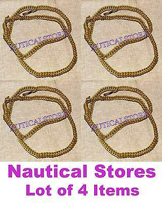Brass antique style belt chain collectible item0123