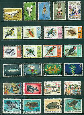 Solomon Islands Stamp Collection Part A