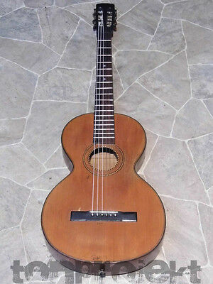 Antique Historical Parlor Guitar All Solid Germany~1910