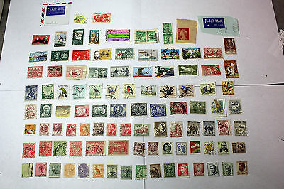 Lot of 100 Australia  Postal  Postage Stamps Mixed  Collection    AUS015