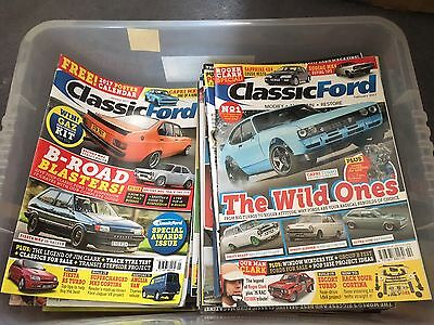 Collection Of Classic Ford Magazines