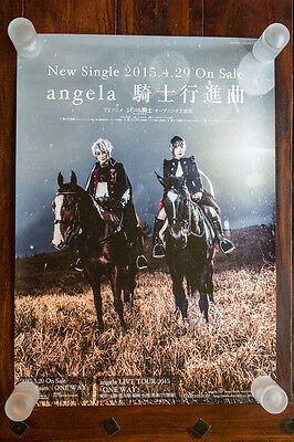 "Angela – Album ""ONE WAY"" Promo Poster"