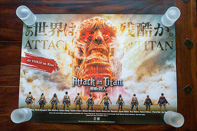 Attack on Titan - Shingeki no Kyojin (進撃の巨人) Movie Promo Poster