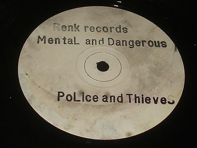 Mental & Dangerous ‎– Police & Thieves   1992     RENK RECORDS!!