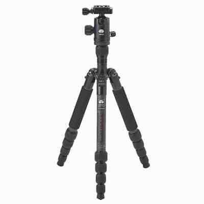 "52"" Carbon Fiber Tripod SIRUI T-025X with C-10X Ball Head & Case Black CA"