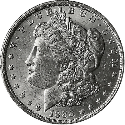1888-O Morgan Silver Dollar Brilliant Uncirculated - BU