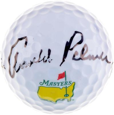 Arnold Palmer Autographed Masters Logo Golf Ball with Palmer Hologram