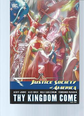 Justice Society Of America-Thy Kingdom Come Part Two Hc-Nm Cond? Superman/power