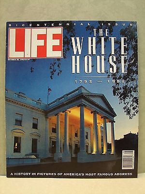 Vintage Life Mag. Oct. 30, 1992, The White House 1792-1992 special issue (J2)