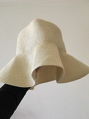 *New* Country Road Women Straw Hat - Soft Wide brim Size M