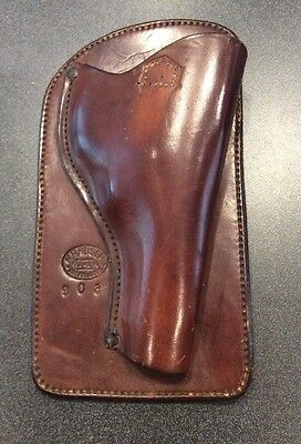 Vintage Maker Marked H. H. Heiser Model 903 Small Frame Revolver Western Holster