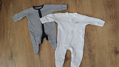 next baby boy sleepsuit up to 1mth