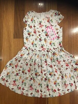 Pumpkin Patch Floral Dress Size 6 Girls New with Tag
