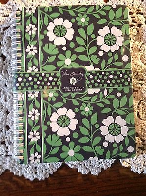 Vera Bradly - MINI NOTEBOOK WITH POCKET - 80 Sheets of Paper - Brand New