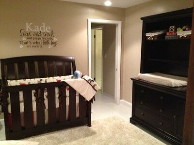 Westwood Brookline 4pc Nursery Furniture Set with Convertible Crib and Mattress