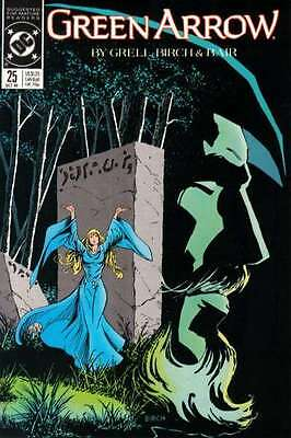 Green Arrow (1988 series) #25 in Very Fine + condition. FREE bag/board