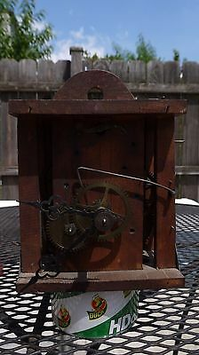 German black forest wooden wall wager movement parts project