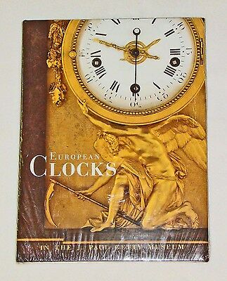European Clocks in the J. Paul Getty Museum  1st Edition    Brand NEW!