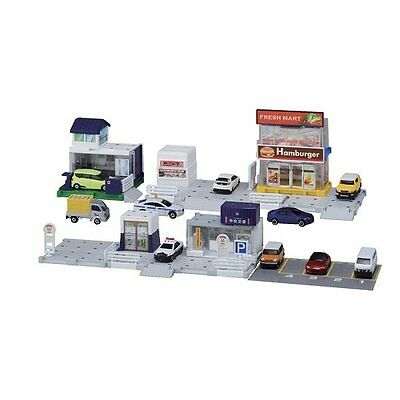 Takara Tomy Tomica Town Build City Basic Playset Toy (NOT INCLUDE DIECAST)