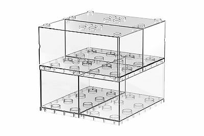 Tiny T-BRICK20 4 IN 1 PACKAGE Combination Stackble Display Box Stands Cases