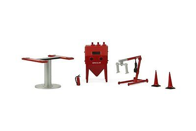 TINY Hong Kong 1/43 Gx4 Garage accessory lift Sandblasting machine etc. Figure