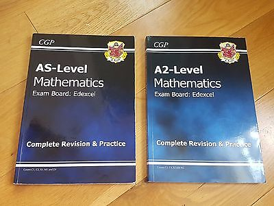 As & A2 Level Cgp Mathematics Complete Revision & Practice Books
