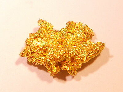 One Sparkling  Australian Gold Nugget ( 1.37 grams ) .