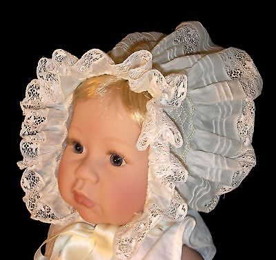 NEW Smocked Baby's Bonnet - Ava _ From Premie to 18 mths