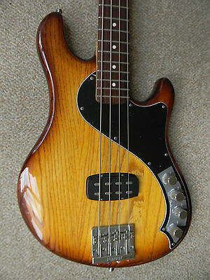 Fender American Deluxe Dimension Bass Guitar Body with 95 Fender Precision Neck