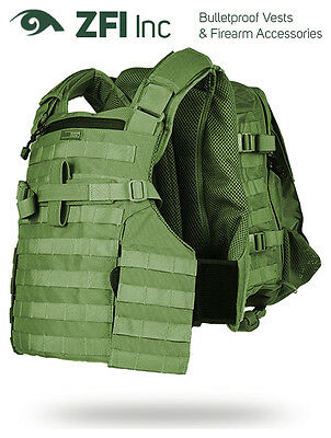BA8028 Marom Dolphin AMRAN Fully Modular Tactical Vest Including Pouches - Green