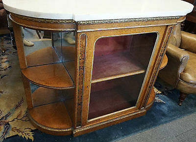 George IV Maple Marble Top Credenza by Thomas Seddon of London
