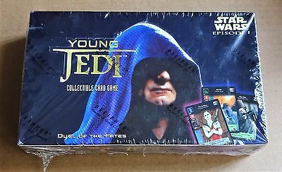 """STAR WARS CCG  """"YOUNG JEDI DUEL OF THE FATES""""  SEALED BOX OF 30 x BOOSTER PACKS"""