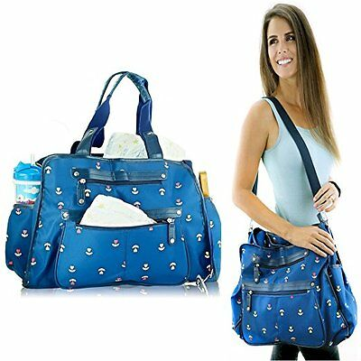 Next New Baby Diaper Bags w/ Changing Pad, Stroller Clips, Shoulder Strap
