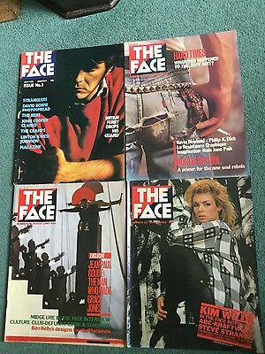 Face Magazine Vol 1. 4 Early issues no3, 23, 28 & 29. Ferry , Bowie. Hacienda.