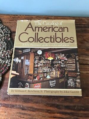 Catalog of American Collectibles Hardcover Illustrated Guide Reference Book 1979