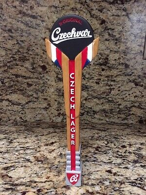 Czechvar Hockey Beer Tap Handle