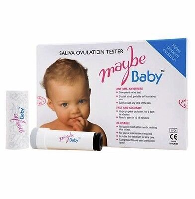 MaybeBaby Easy Re-usable Saliva Ovulation Test - RRP £49.99