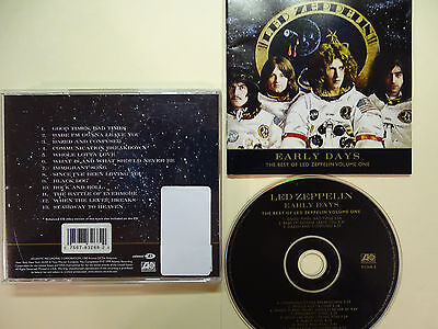 early days the best of led zeppelin vol 1 by led zeppelin cd brand new cad. Black Bedroom Furniture Sets. Home Design Ideas