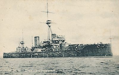 Postcard  Ships  Hms  Dreadnought
