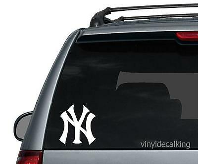 New York YANKEES Logo Vinyl Car Truck DECAL  Window STICKER Graphic NY YANKEES