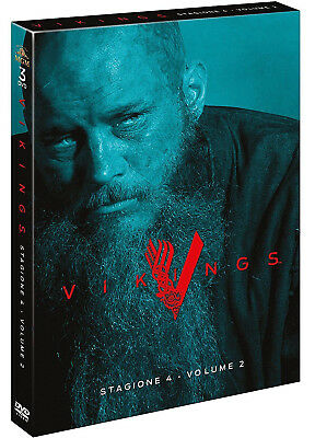 Vikings - Stagione 4 - Volume 2 (3 Dvd) Serie Tv Warner Bros